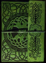 Celtic Tree of Life Leather Journal
