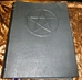 Handcrafted Leather Book of Shadows Wicca Blank Pentacle Symbol Grimoire  - BSSDPent