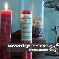 Happy Home/Peace and Serenity Blessed Herbal Spell Candle