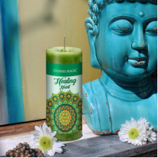 Heart (4th) Chakra Magic Healing Green Candle