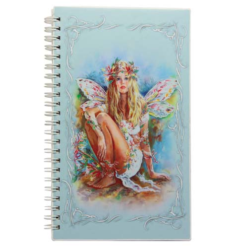Honey Suckle Fairies Medium Journal by Christine Haworth