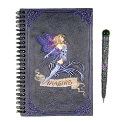 Imagine Fairy Journal with Pen Set by Amy Brown   Imagine Fairy Journal with Pen Set by Amy Brown
