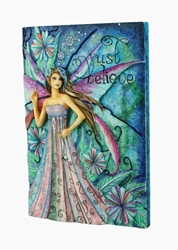 Jessica Galbreth Just Believe Fairy Plaque