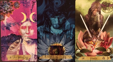 Journey of The Sacred Bee Tarot The Stolen Child Tarot Deck by Monica Knighton