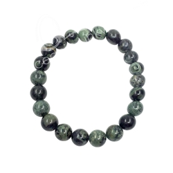 Kambaba Jasper  8mm Beaded Crystal Stone Bracelet  for Healing and Calming Kambaba Jasper  8mm Beaded Crystal Stone Bracelet  for Healing and Calming
