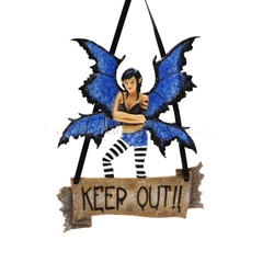 Keep out Fairy Plaque by Amy Brown