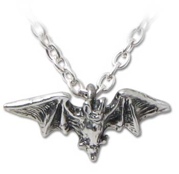 Kiss of the Night Necklace By Alchemy Gothic