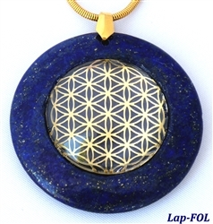 Large Lapis Medallion Pendant with Sacred Geometry Large Lapis Medallion Pendant with Sacred Geometry, Sacred Geometry Pendant, Lapis Pendant