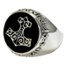 Large Silver Bronze Thors Hammer Ring  - TRI1335