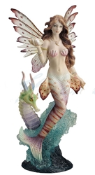 Lionfish and Mermaid Figurine
