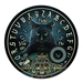 "Lisa Parker ""The Reader"" Black Cat Spirit Board Table - 13856"