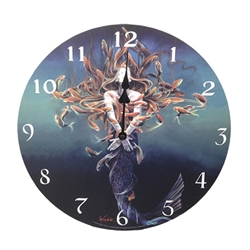 Metamorphosis Clock by Sheila Wolk