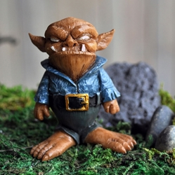 Minature Halloween Fairy Garden Troll