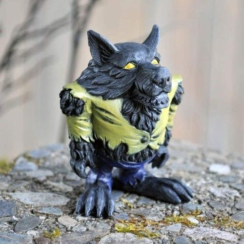 Minature Halloween Fairy Garden Werewolf