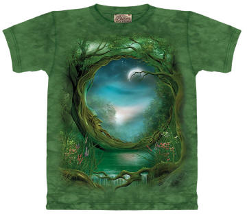 Moon Tree Tee Shirt