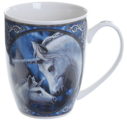 Mother and Child Unicorn New Bone China Mug Sacred Love of Unicorn New Bone China Mug