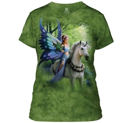 Mountain Womens T-Shirt | Realm of Enchantment BY ANNE STOKES Mountain Womens T-Shirt | Realm of Enchantment BY ANNE STOKES