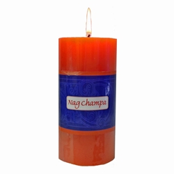 Nag Champa Pillar Candle