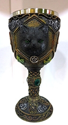 Nemesis Now Black Cat Goblet