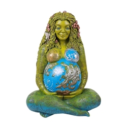 New! Jumbo Garden Sized Millennial Gaia Earth Mother Statue By Oberon Zell  Millennial Gaia Earth Mother Statue By Oberon Zell, Mother Earth, Mythic Images Gaia, Millenial Gaia, Milennial Gaia