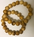 Palo Santo Wood Beaded Bracelet Burserea graveolens - from Peru - I-PSWB