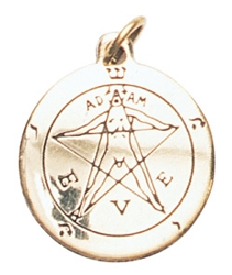 Pentacle of Eden Charm for Winning a Lovers Heart Pendant