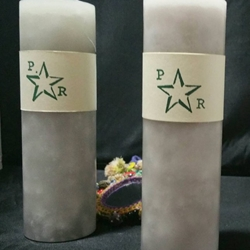Polaris Rising Return to Sender Pillar Candle