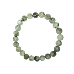 Prehnite 8mm Beaded Crystal Stone Bracelet to open your heart chakra Prehnite 8mm Beaded Crystal Stone Bracelet to open your heart chakra
