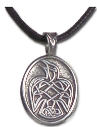 "Raven - ""Speak your truth""  Celtic Strength Pendant  Raven - ""Speak your truth""  Celtic Strength Pendant"