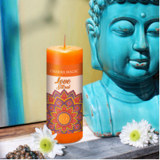 Sacral (2nd) Chakra Magic Love Candle