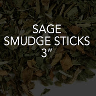 Sage Smudge Sticks, 3""
