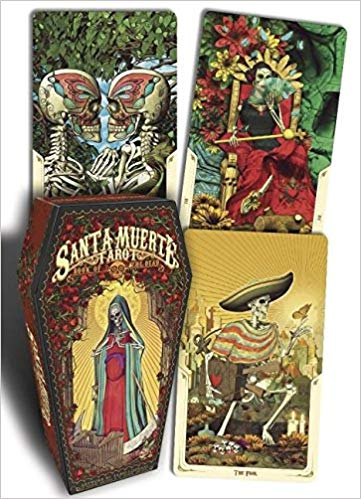 Santa Muerte Tarot Limited Edition in Coffin Shaped Box, hard to find!