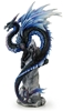 Sapphire Sentinel Dragon Statue by Andrew Bill Sapphire Sentinel Dragon Statue by Andrew Bill, Andrew Bill Dragons, Andrew Bill, Collectible Dragons, Collectable Dragons