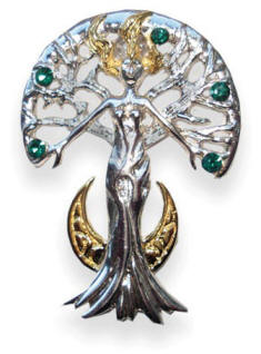 Serene Celina Sylvana Tree Spirit by Anne Stokes for Inner Strength and Self Knowledge SN03