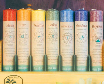 Set of all Seven Chakra Pillars