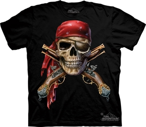 Skull and Muskets 1562 Pirate T-Shirt