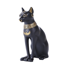 Small Cat Goddess Egyptian Bastet Statue  Small Cat Goddess Egyptian Bastet Statue, Bast Statue, Little Bastet