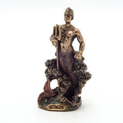 Small OLOKUN OWNER OF THE DEEP SEA Orisha Statue   Small OLOKUN OWNER OF THE DEEP SEA Orisha Statue