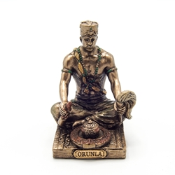 Small ORUNLA GOD OF WISDOM, DESTINY AND PROPHECY Orisha Statue    Small ORUNLA GOD OF WISDOM, DESTINY AND PROPHECY Orisha Statue