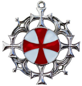 Solar Cross for Strong Health and Mental Vigour Pendant