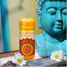 Solar Plexus (3rd) Yellow Chakra Confidence Magic candle
