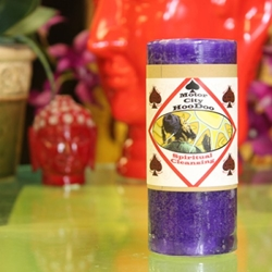 Spiritual Cleansing Hoo Doo Candle by Motor City Hoodoo