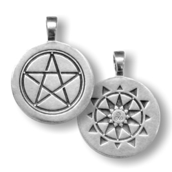 Star Wisdom  Pentacle Pendant by Christopher Penczak