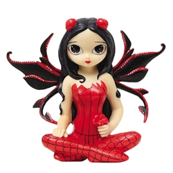 Strangeling Poppy Garden Fairy Figurine by Jasmine Becket-Griffith