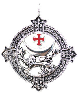 Templar Lion for Power and Success Pendant