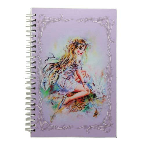 The Crystal Keeper Fairies Medium Journal by Christine Haworth
