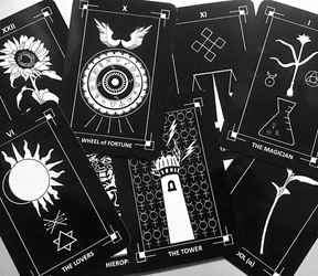 The Dark Exact Tarot Deck and Guidebook Self Published  The Dark Exact Tarot Deck and Guidebook Self Published