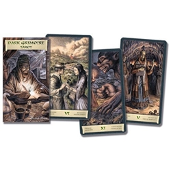 The Dark Grimoire Tarot (English and Spanish Edition) (#HC)