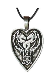 The Lady and The Dragon Pendant Collection  DR2 When you act from your heart, anything is possible