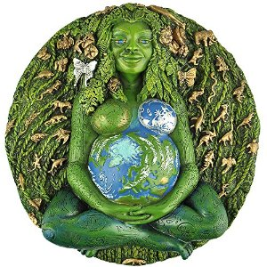 The Millennial Gaia Wall Plaque